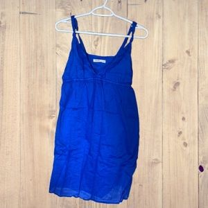 Old Navy dress with pockets! Royal blue.